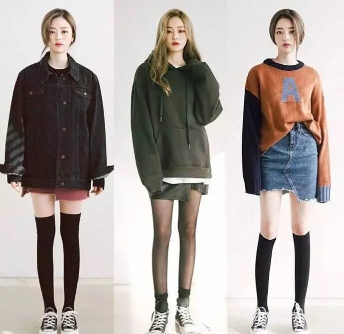 初春显瘦穿搭模板,各种裙装裤装都有!让你比别人提前一步美起来